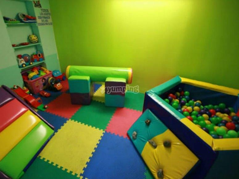 Zona de juegos para los más pequeños