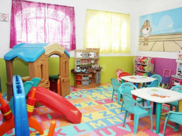 Zona de juegos para niñas