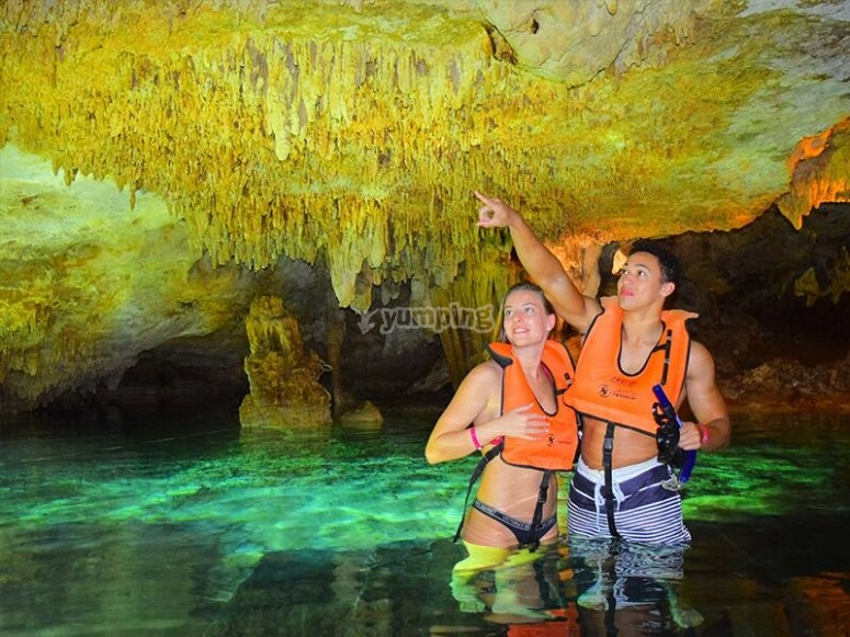 Underground cenote