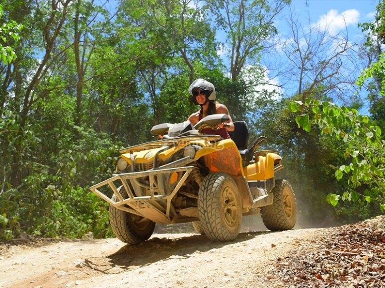 Quad bike in Mexico
