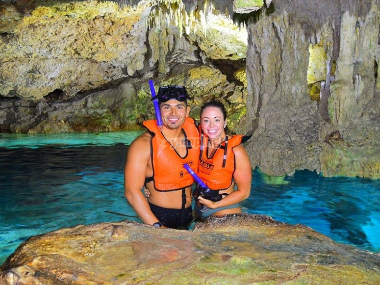 Snorkel in the cave