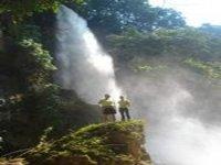 llegada a la cascada