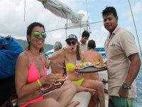 buffet a bordo