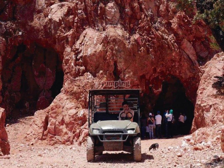 Entrada a las minas