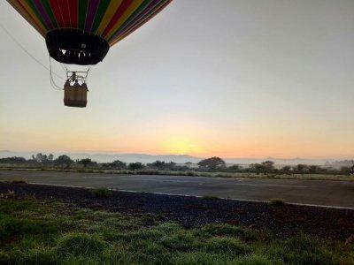 Balloon flight Tequisquiapán 50 minutes and sunrise