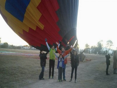 Balloon ride for Tequisquiapán children and breakfast