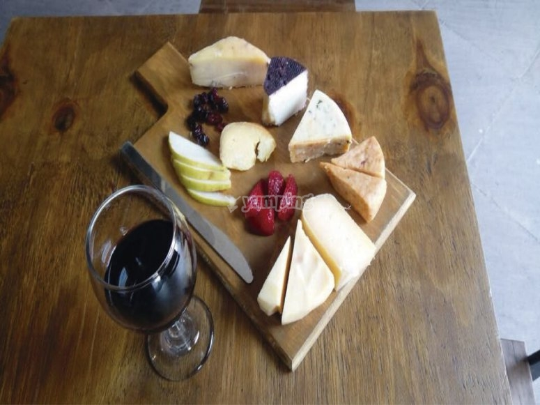 La tabla de quesos