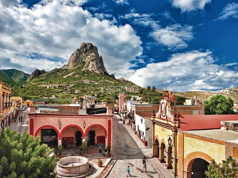 The town of Bernal