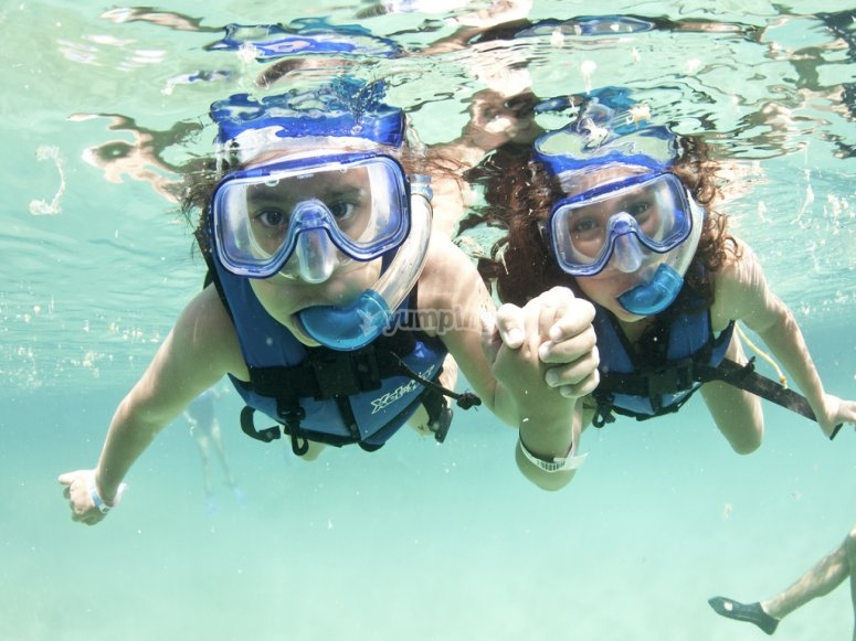 Nadar isla contoy