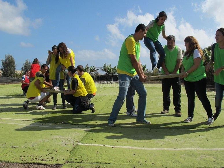 Team building en Tapalpa
