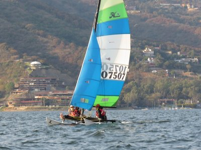 Sailboat lesson 1h on sailboat in Valle de Bravo