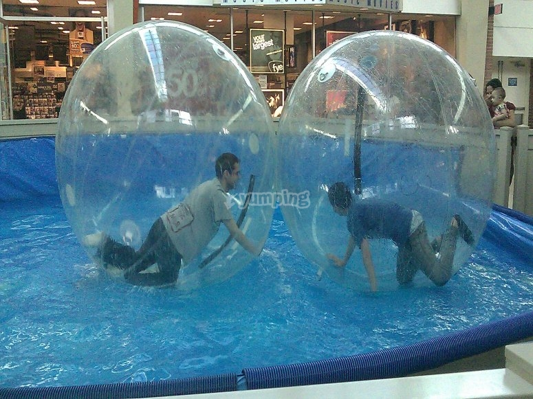 Challenges inside the bubbles