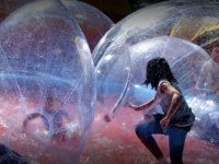 Water Zorbing with pool in Querétaro 5 hours