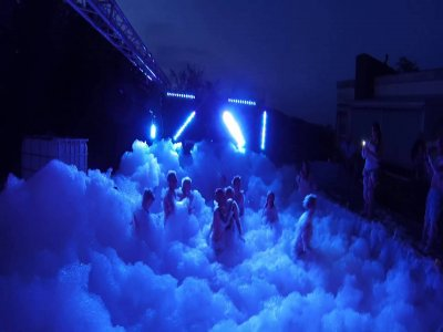 Foam party rent canyon in Querétaro 3 hours
