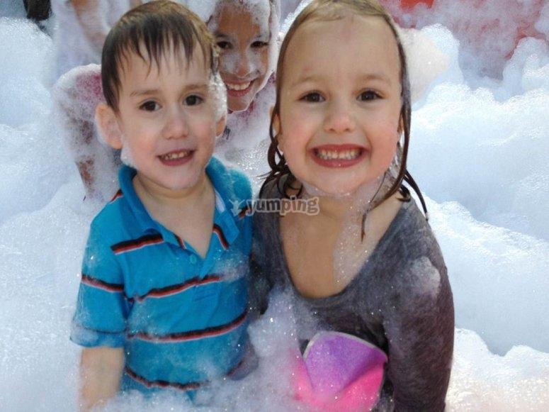Foam kids party