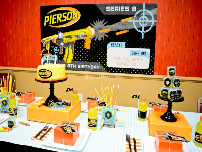 Your birthday with Nerf