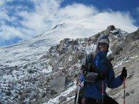 High mountain walk