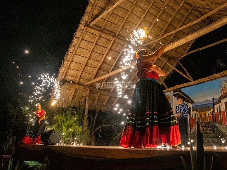 Baile típico de Vallarta