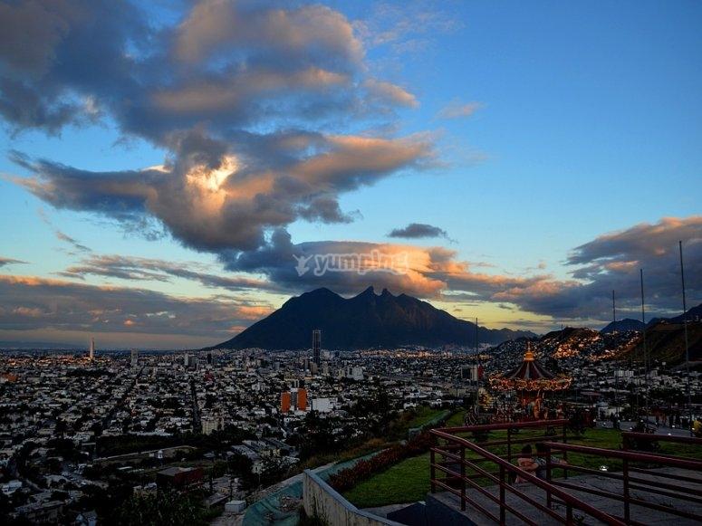 Flight in Monterrey