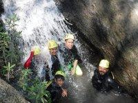 Refréscate en una fascinante cascada