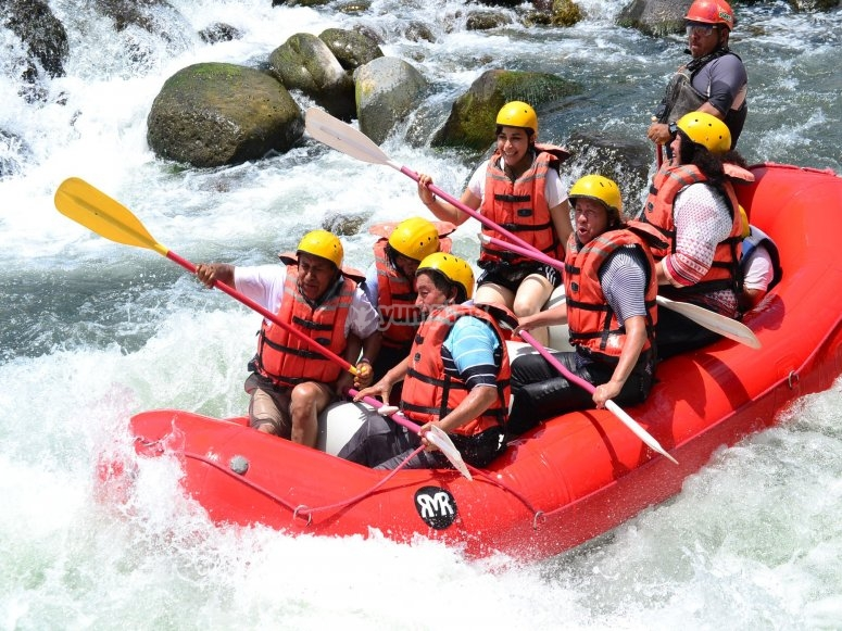 Challenging the rapids
