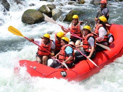 Rafting with zip lines and food in Veracruz 8 hours