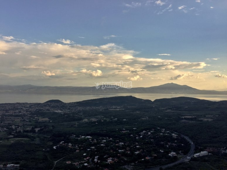 View of Chapala from the heights