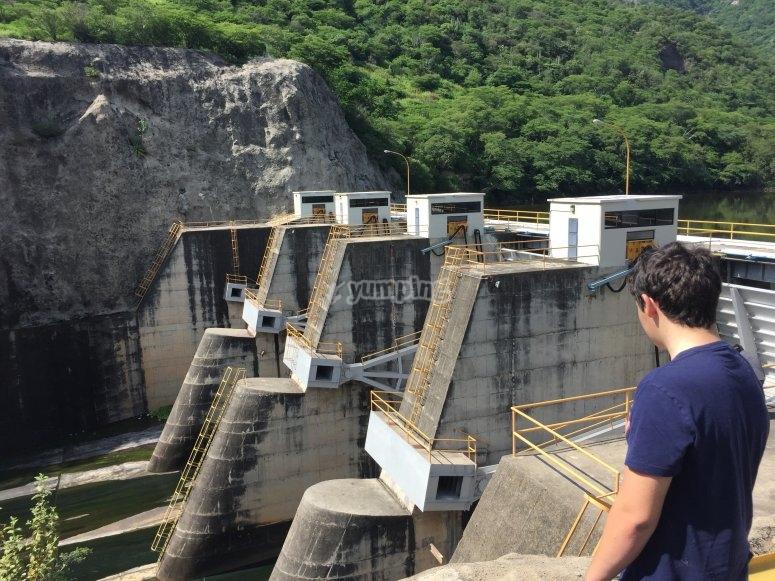 Visita la presa en Tequila, Jalisco