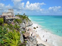 Guided tour Tulum and Xel-Ha Water Park kids