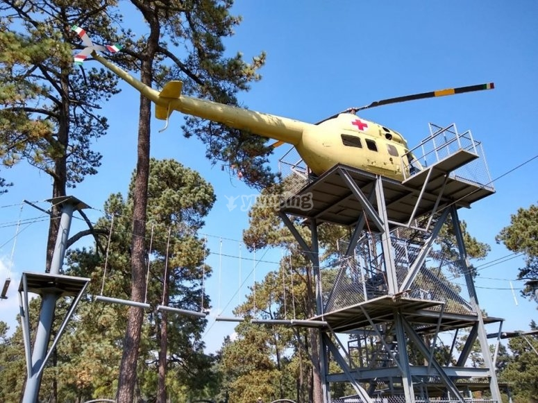 The best theme park of Ajusco
