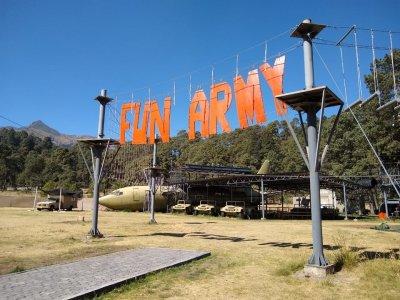 Entrada de acompañante a parque militar en CDMX