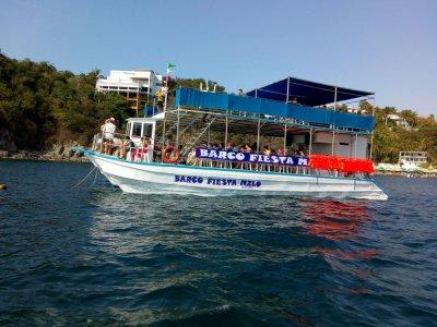 Boat trip Fiesta Manzanillo 2 and a half hours