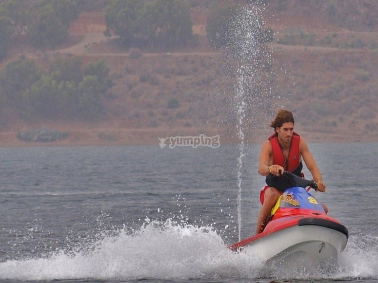Moto de agua en Colima