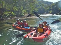 group paddling