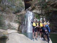 adrenalina a la cascada