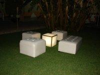 Salas lounge en el jardin