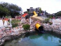Toboganes en el oasis