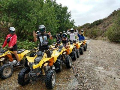 Tour en cuatrimoto off road por Rosarito 2 horas