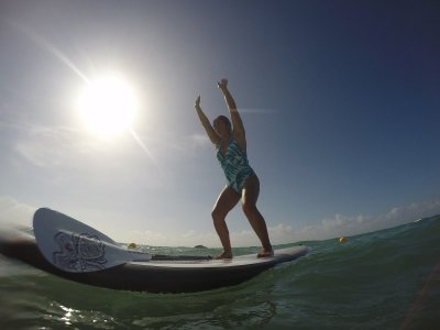 Snorkeling and SUP to the reef in Playa del Carmen