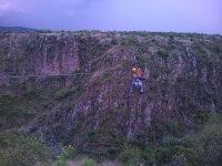 fly between ravines