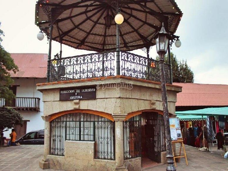 Conoce el centro de Huasca de Ocampo