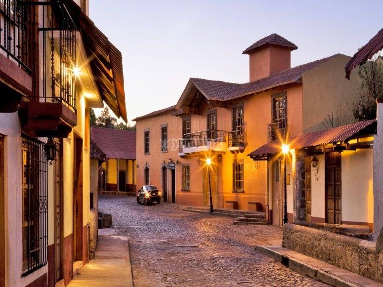 Descubre las calles principales de Huasca