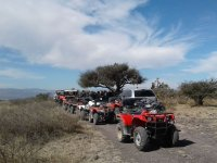Red ATVs