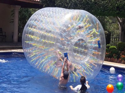 Rent of Roller Zorb in Cuernavaca
