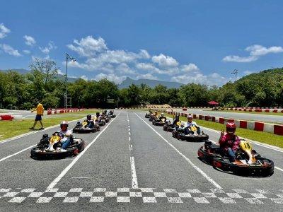 Santiago Racing Track Go Karts