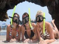 Amantes del snorkel