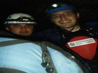 Explorando las cavernas