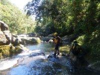 Hiking por el rio