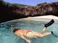 Realizando snorkel