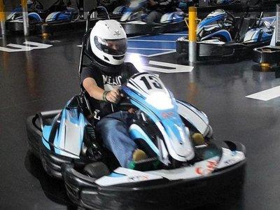Carrera de Go Karts en Atlixco 12 vueltas